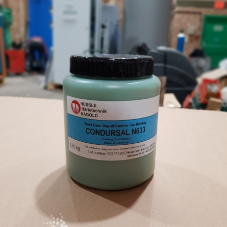 Condursal N633 - Water Base Stop-Off Paint for Gas Nitriding