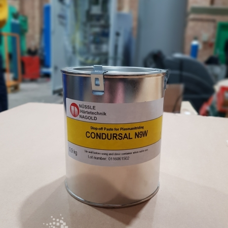 Condursal n9w - Stop-off Paste for Plasmanitriding