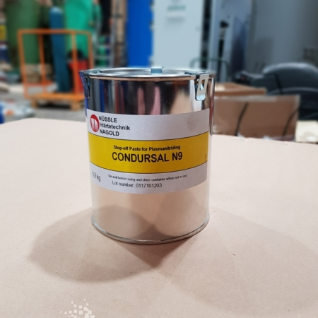 Condursal N9 - Stop-off Paste for Plasmanitriding