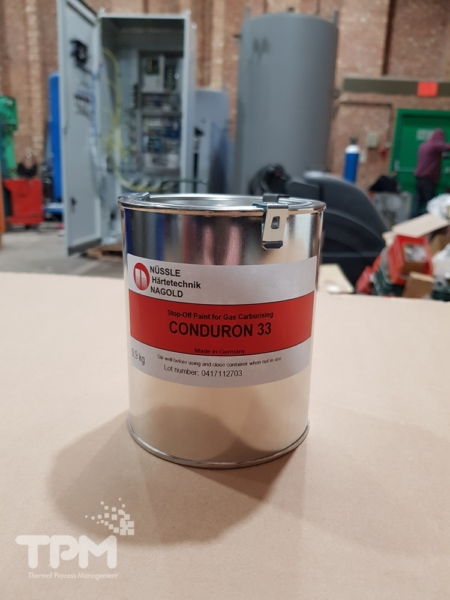 Conduron 33 - Stop-Off Paint for Gas Carburising